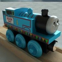Thomas The Tank Engine Sodor Day Wooden Railway Toy Train